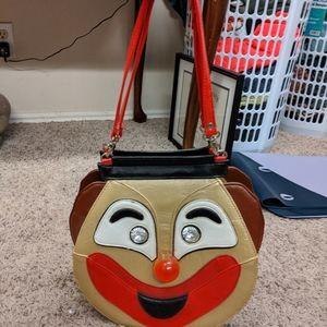 Vintage Retro Clown Purse